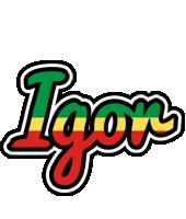 Igor african logo