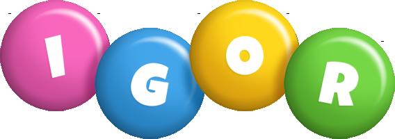 Igor candy logo