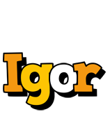 Igor cartoon logo