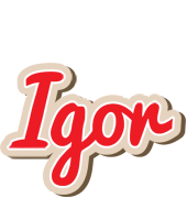 Igor chocolate logo