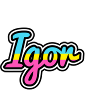 Igor circus logo