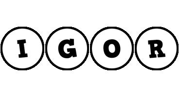 Igor handy logo