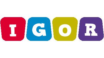 Igor kiddo logo
