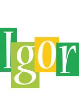 Igor lemonade logo