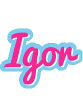 Igor popstar logo