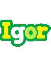 Igor soccer logo