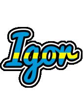 Igor sweden logo