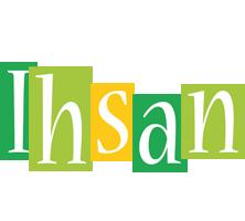 Ihsan lemonade logo