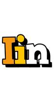 Iin cartoon logo