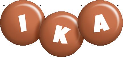 Ika candy-brown logo
