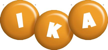 Ika candy-orange logo