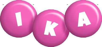 Ika candy-pink logo