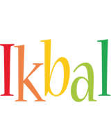 Ikbal birthday logo