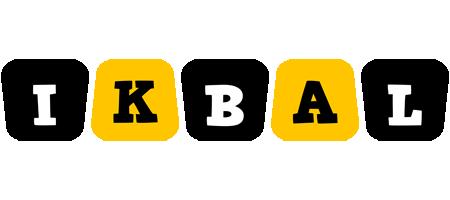 Ikbal boots logo