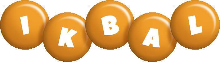 Ikbal candy-orange logo