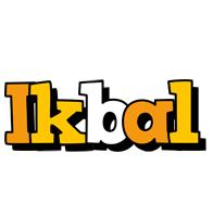 Ikbal cartoon logo