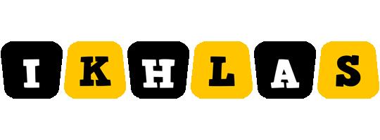 Ikhlas boots logo
