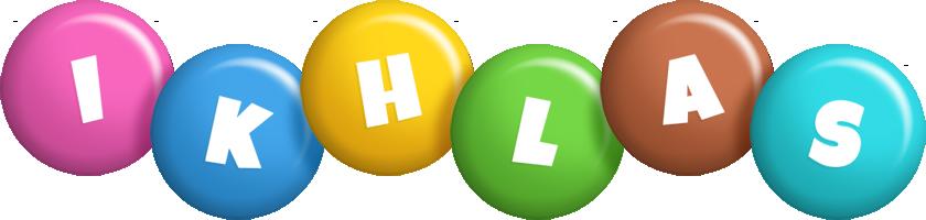Ikhlas candy logo