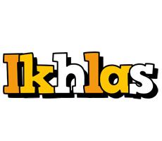 Ikhlas cartoon logo