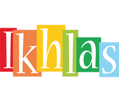 Ikhlas colors logo