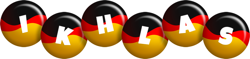 Ikhlas german logo