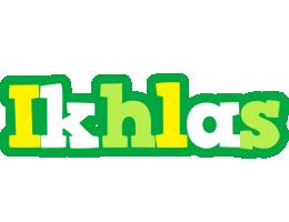 Ikhlas soccer logo