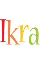 Ikra birthday logo