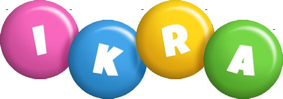 Ikra candy logo