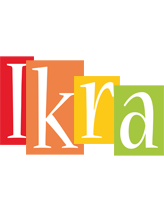 Ikra colors logo