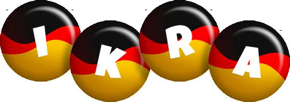 Ikra german logo