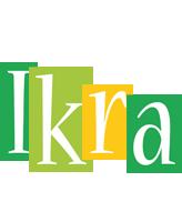 Ikra lemonade logo