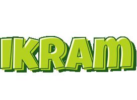 Ikram summer logo