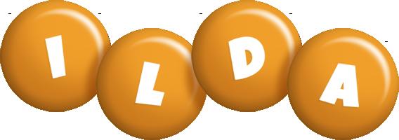 Ilda candy-orange logo