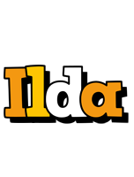 Ilda cartoon logo