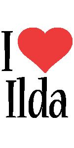 Ilda i-love logo