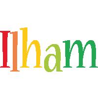 Ilham birthday logo
