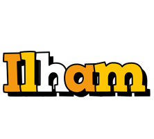 Ilham cartoon logo