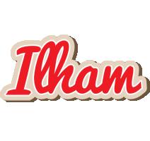 Ilham chocolate logo