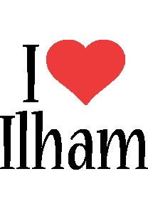 Ilham i-love logo