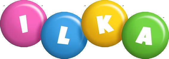 Ilka candy logo
