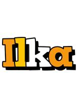 Ilka cartoon logo