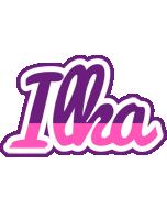 Ilka cheerful logo