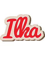 Ilka chocolate logo