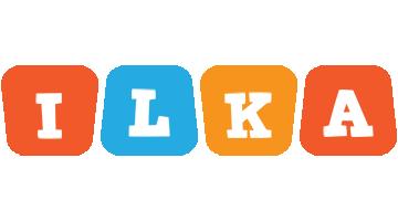 Ilka comics logo
