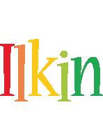 Ilkin birthday logo