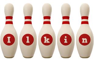 Ilkin bowling-pin logo