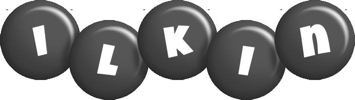 Ilkin candy-black logo