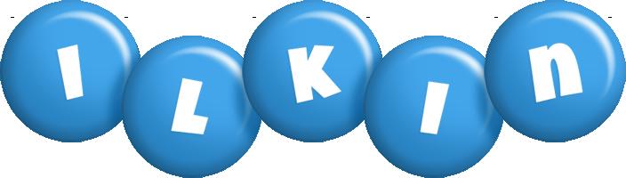 Ilkin candy-blue logo