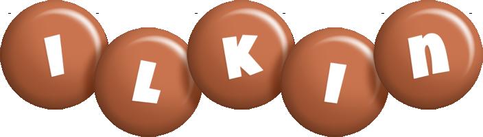 Ilkin candy-brown logo