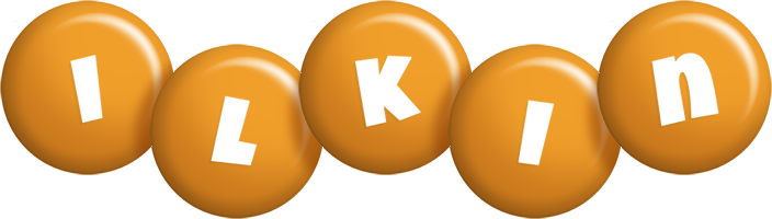 Ilkin candy-orange logo
